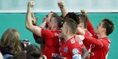 HSV naar halve finale Duitse beker, Van Drongelen valt uit