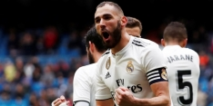 Real Madrid met moeite langs Eibar dankzij dubbelslag Benzema