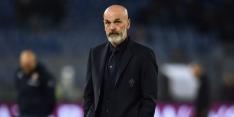 Serie A-koploper voorlopig zonder coach Pioli na positieve test