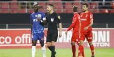 Duel in Franse competitie stilgelegd na racistisch gedrag 'fans'