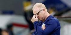 Schotland heeft onvoldoende vertrouwen en ontslaat bondscoach