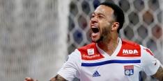 Scorende Memphis wint met Lyon moeizaam van Bordeaux