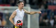Van Persie kon bij Anderlecht terugkeer maken in voetballerij