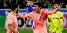 FC Barcelona bijna kampioen na simpele overwinning