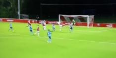 Video: Zlatan-achtige hakbal van Jong FC Utrecht'er Van Rooijen