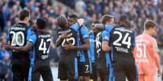 Club Brugge houdt hoop op titel na overwinning op Anderlecht