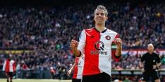 Feyenoord verliest bij afscheid Van Persie en Gio
