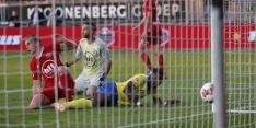 Almere City komt blunders Etemadi niet te boven, Cambuur door