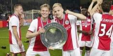 'Real meldt zich bij Ajax voor 'Plan B-Pogba' Van de Beek'