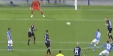 Video: Zielinski doet Internazionale pijn met heerlijke pegel