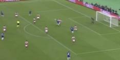 Video: Giroud opent met knappe kopbal score in Azerbeidzjan