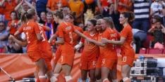 Oranje doorstaat laatste test, maar verliest Van Es