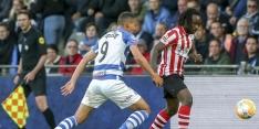 Gehuurde verdediger Dabo gaat niet met Sparta Eredivisie in