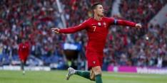 Zwitserland maakt het Portugal moeilijk, maar buigt voor Ronaldo