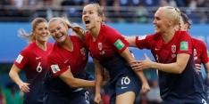Noorwegen heeft aan één helft genoeg tegen Nigeria