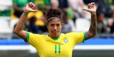 Hattrickheldin Cristiane bezorgt Brazilië droomstart