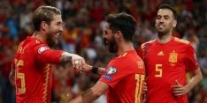 Groep F: Spanje op twaalf uit vier na ruime zege op Zweden