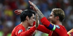"""Ramos gunt Morata penalty: """"Een spits leeft om goals te maken"""""""