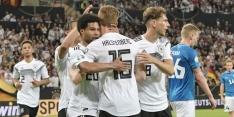 Duitsland blaast Estland weg, Noord-Ierland loopt uit op Oranje