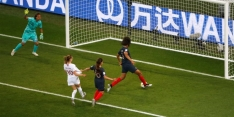 Bizar eigen doelpunt wordt Françaises niet fataal