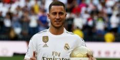Hazard maakt eerste goal voor Real en is direct beslissend
