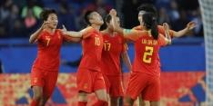 China heeft eerste punten binnen na zege op Zuid-Afrika