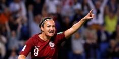 Engeland stelt teleur, maar staat wel in volgende ronde