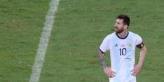 Messi gaat met Argentinië meteen onderuit op Copa America