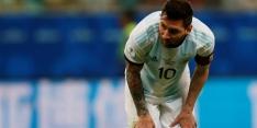 Argentinië ontsnapt met 1-1, Gutí valt uit bij zege Mexico