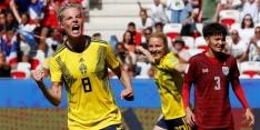 Thailand houdt met 5-1 nederlaag schade beperkt tegen Zweden