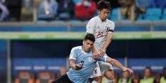 Uruguay zeer moeizaam naar gelijkspel tegen Japan