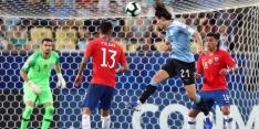 Uruguay als groepswinnaar door na nipte zege op Chili