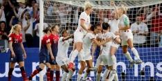 Engeland stoot overtuigend door naar halve finale WK