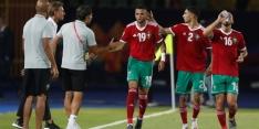 Marokko wint na fraaie actie Amrabat en is ronde verder