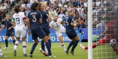 Rapinoe verpest Frans feestje en leidt VS naar halve finales