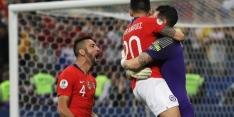 Chili bereikt halve finale Copa na strafschoppenserie