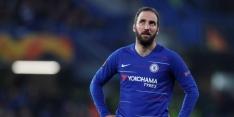 Chelsea laat Higuain weer gaan, ook Cahill vertrekt uit Londen