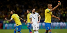 Messi pakt weer geen prijs: Brazilië naar Copa-finale