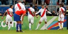 Stuntploeg Peru schakelt Chili uit in halve finale Copa América