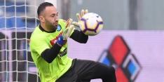 Flater van Ospina zorgt voor dreun Napoli en vreugde bij Lazio