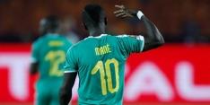 Senegal meldt zich dankzij Mané in kwartfinale Afrika Cup