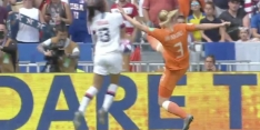 Video: Rapinoe opent score uit een strafschop na ingrijpen VAR