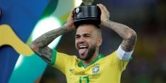 Prijzenkoning Alves wil Messi voorblijven, maar last wel pauze in