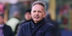 Ernstig zieke Mihajlovic zit als trainer op bank Bologna