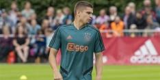 """Marin op tweede plan bij Ajax: """"Dit is geen prettige situatie"""""""