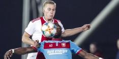 """Ajax-talent Kemper: """"Kon bij andere clubs meer verdienen"""""""
