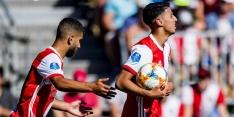 Narsingh en Bannis laten zich zien bij oefenzege Feyenoord