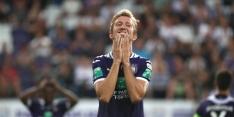 Anderlecht doelpuntloos gelijk, Klaassen pijnlijk onderuit