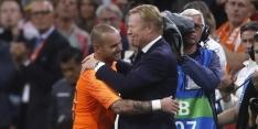 """Koeman: """"Sneijder is altijd welkom bij het Nederlands elftal"""""""