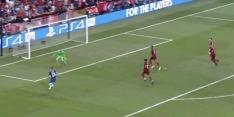 Video: Giroud zet Chelsea op voorsprong na heerlijke steekpass